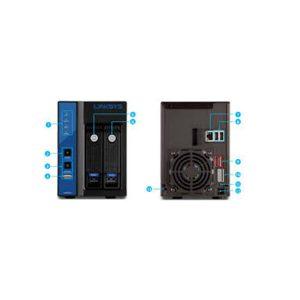 Linksys 2-Bay Network Video Recorder LNR0208C