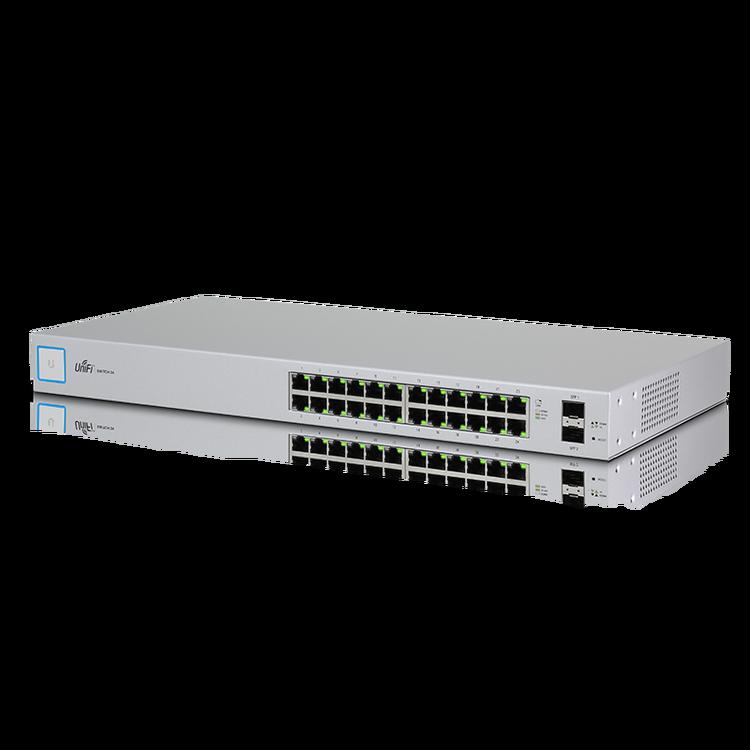 Thiết bị chuyển đổi UniFi Switch mã US-24 (Ubiquiti)